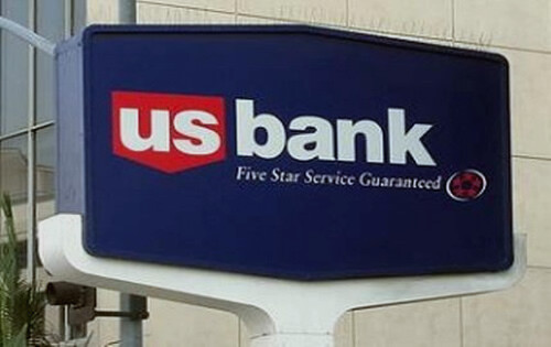 US Bank sign