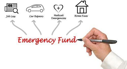 Emergency fund allocation