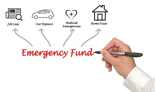 Emergency fund allocation