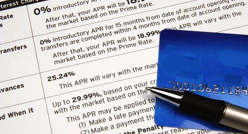 Credit Card Disclosures